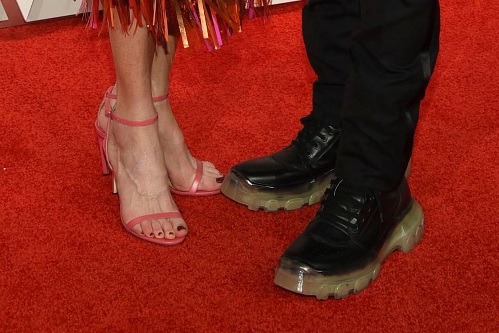 Nicole Kidman and Keith Urban, jimmy choo pink minny sandals, 53rd Annual CMA Awards, Arrivals, Bridgestone Arena, Nashville, USA - 13 Nov 2019