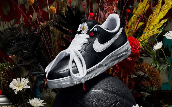Nike Air Force 1, para-noise, g-dragon, sneakers