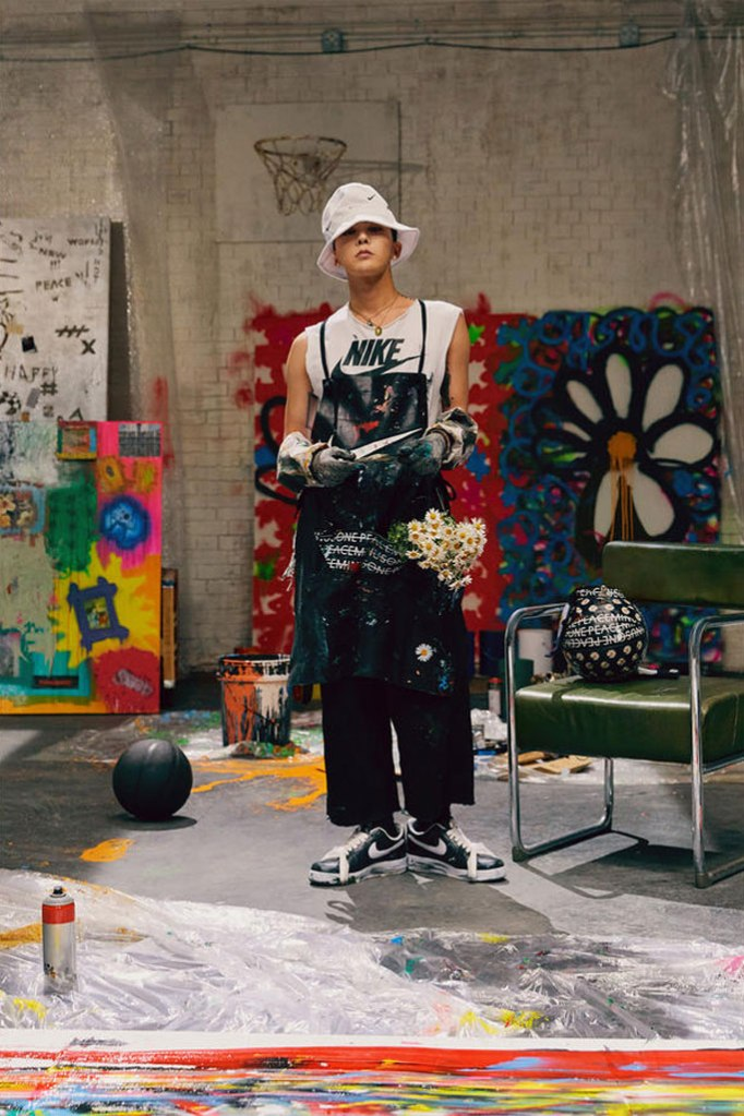 G-Dragon, nike air force 1, para-noise, sneakers, collaboration