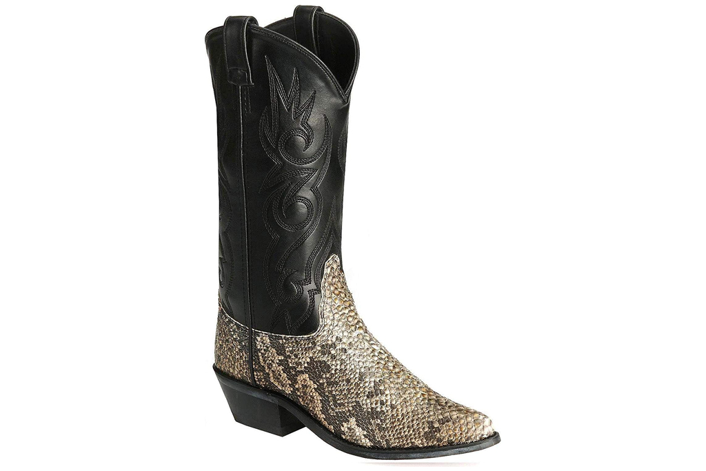 old west snakeskin boots