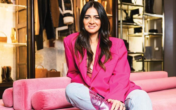 Paris Texas designer Annamaria Brivio.