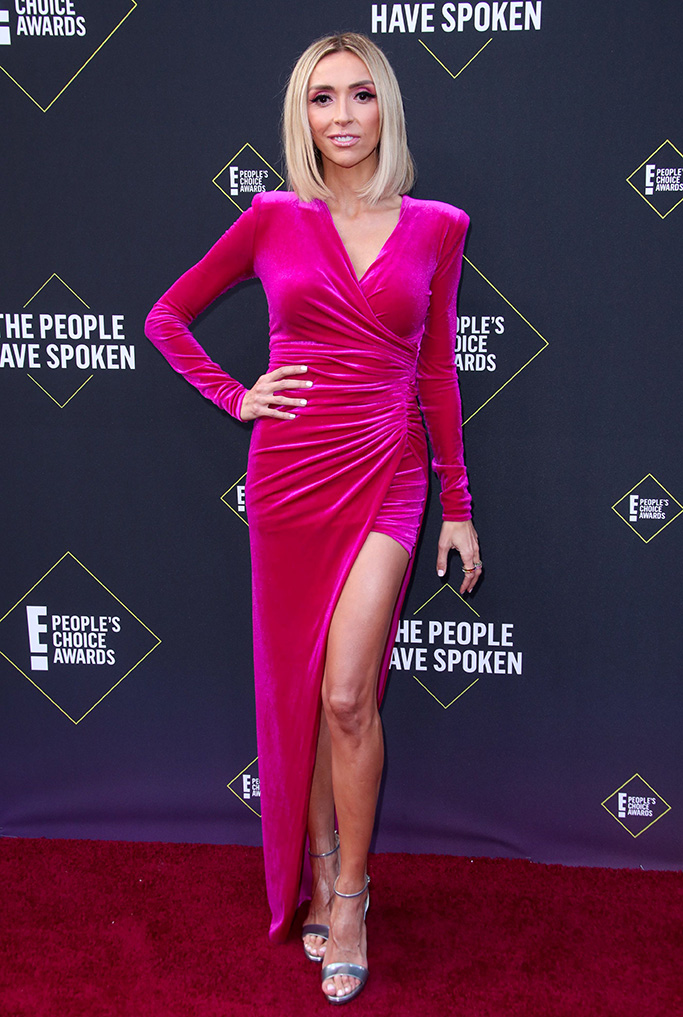 Giuliana Rancic45th Annual People's Choice Awards, Arrivals, Barker Hanger, Los Angeles, USA - 10 Nov 2019