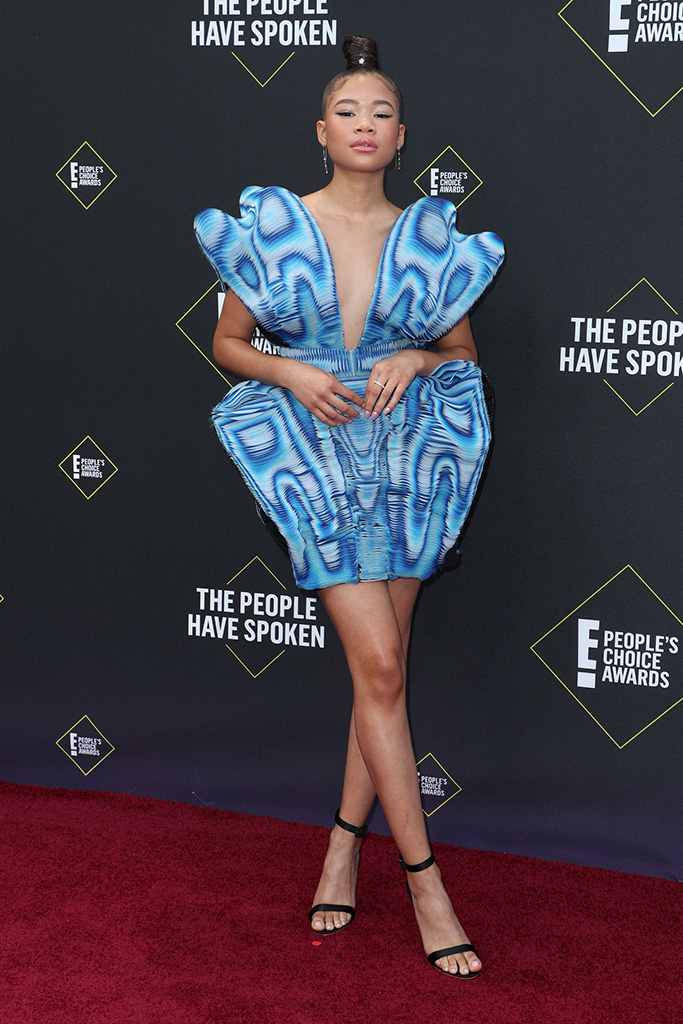 Storm Reid45th Annual People's Choice Awards, Arrivals, Barker Hanger, Los Angeles, USA - 10 Nov 2019