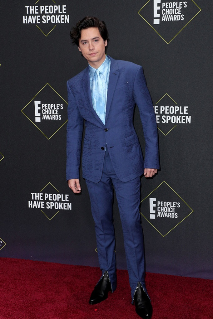Cole Sprouse45th Annual People's Choice Awards, Arrivals, Barker Hanger, Los Angeles, USA - 10 Nov 2019