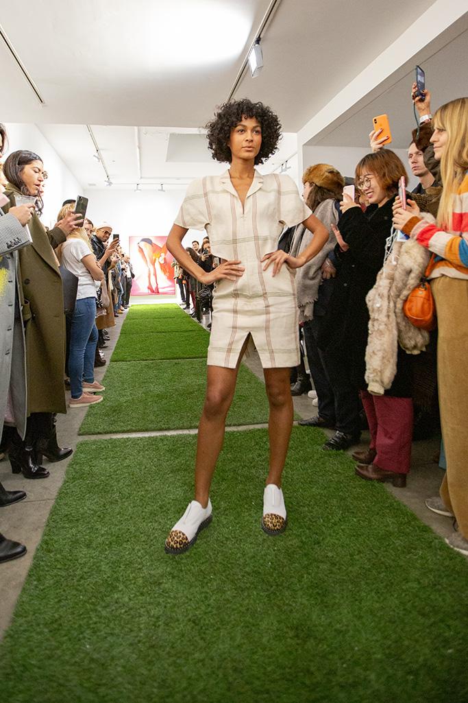 Marie Laffont shoes, derby womens shoes, leopard print