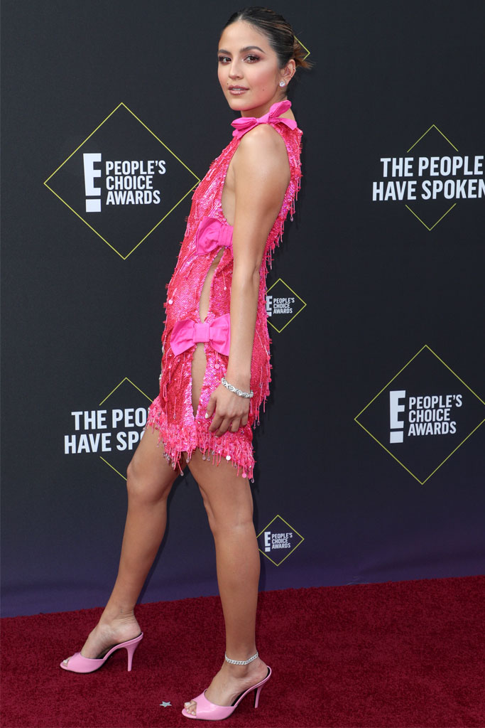 Erin Lim, The People's Choice Awards, pink,