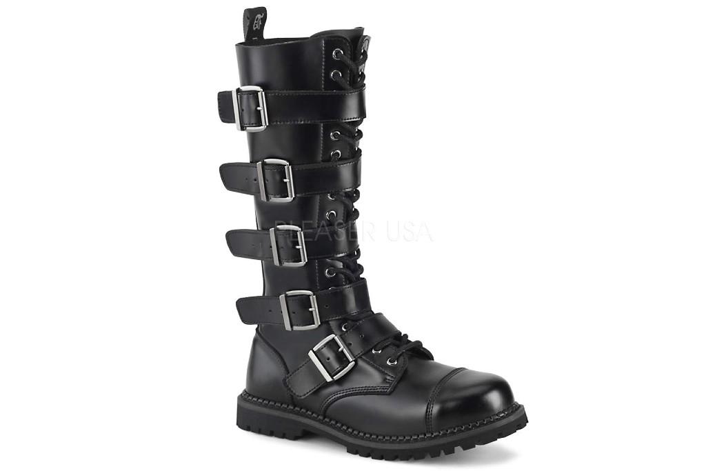 Pleaser Men's Riot-20 Buckle Boot