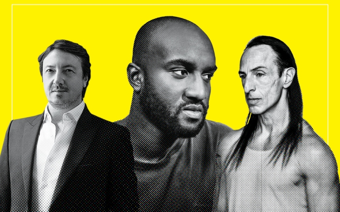 Gianvito Rossi, Virgil Abloh, Rick Owens, power list