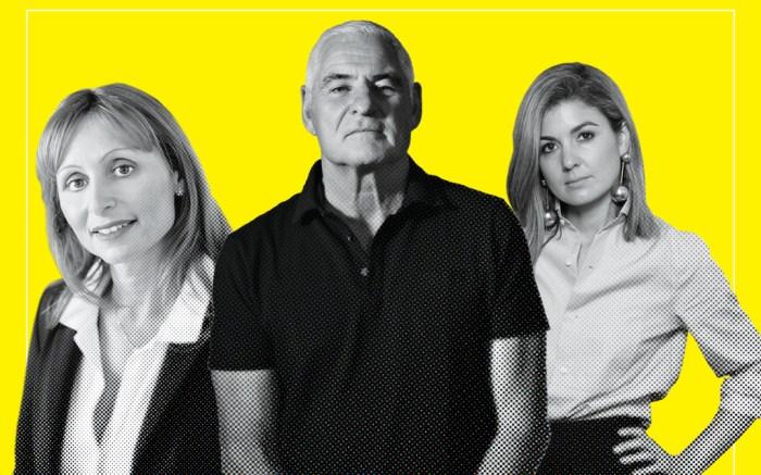 Jöelle Grünberg, Rick Mina and Alison Bergen, power list, the establishment