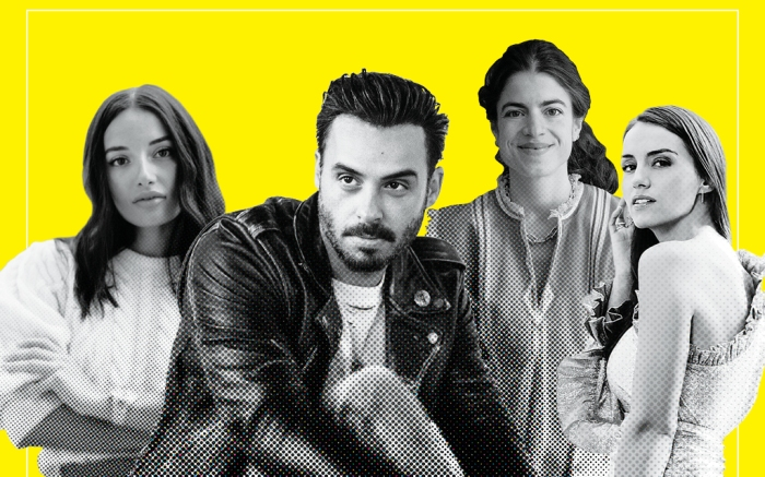 Amina Mua, Mike Amiri, Leandra Medine and Chloe Gosselin, footwear news power list 2019