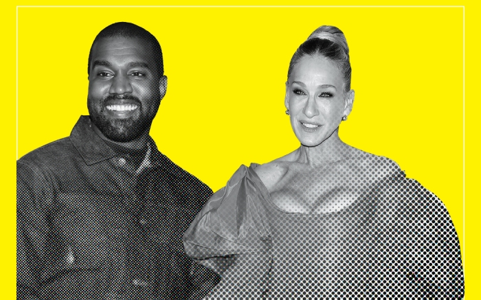 kanye west, sarah jessica parker, fn power list 2019