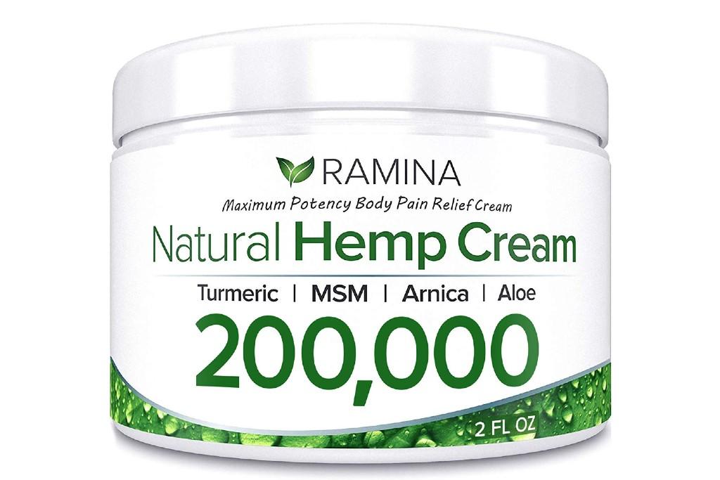 Ramina Natural Hemp Extract Pain Relief Cream