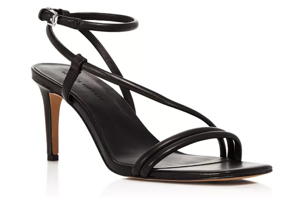 Rebecca Minkoff Nanine , strappy black sandals