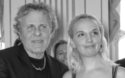 Renzo Rosso and Christelle Kocher