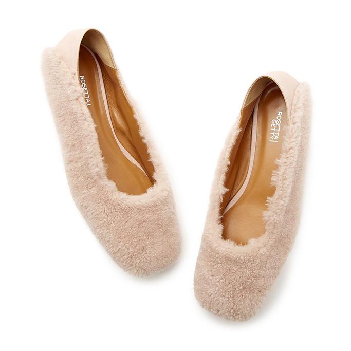 rosetta-getty-shearling-loafer