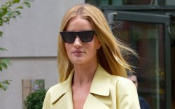Rosie Huntington-Whiteley, celebrity style, nyc, street