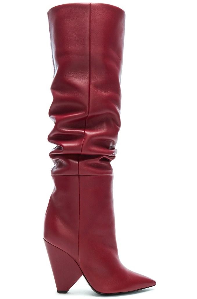 Niki Thigh High Boots, saint laurent
