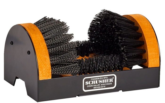scrusher, boot scrubber