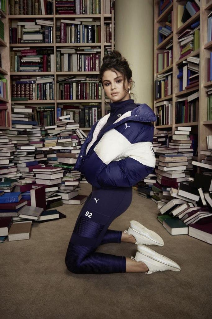 Selena Gomez, Puma, Selena Gomez x Puma, SG Quilted Runner, fall 2019, ad campaign
