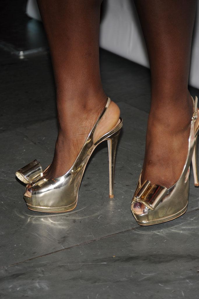 Serena Williams, 2011 fnaas, red carpet, footwear news achievement awards