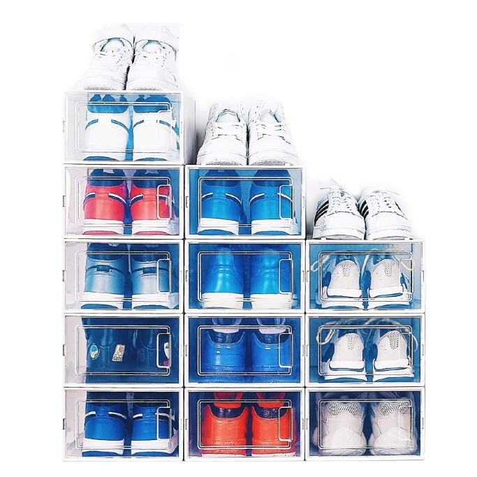 elever shoe bins