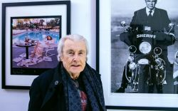 Legendary Celebrity Photographer, Terry O'Neill, in