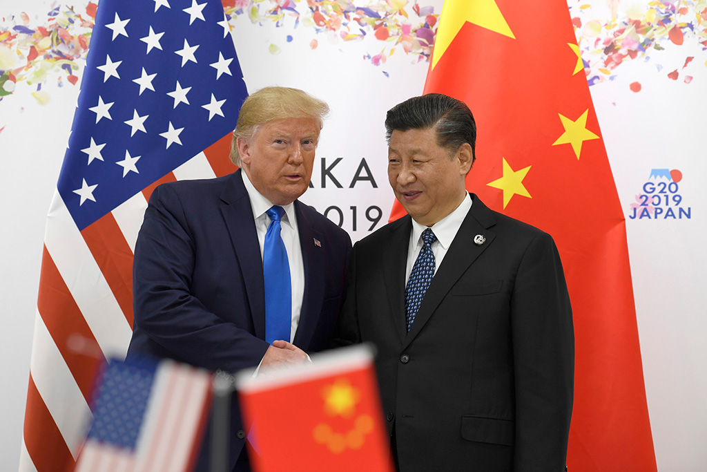 Donald Trump, Xi Jinping. President Donald Trump poses for a photo with Chinese President Xi Jinping during a meeting on the sidelines of the G-20 summit in Osaka, JapanTrump US China, Osaka, Japan - 29 Jun 2019