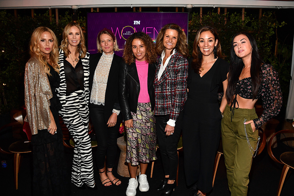 Rachel Zoe, Dee Ocleppo, Anita Patrickson, Martha Garcia, Kathy Kartalis, Bianca Gates and Tamara DhiaFN Women in Power, Los Angeles, USA - 06 Nov 2019