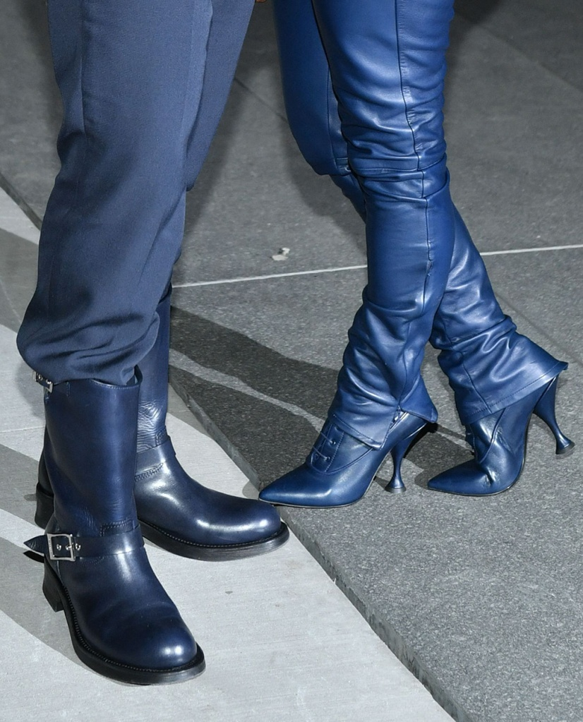 Kanye West and Kim Kardashian West, shoe detail9th Annual WSJ. Magazine Innovator Awards, Arrivals, The Museum of Modern Art, New York, USA - 06 Nov 2019