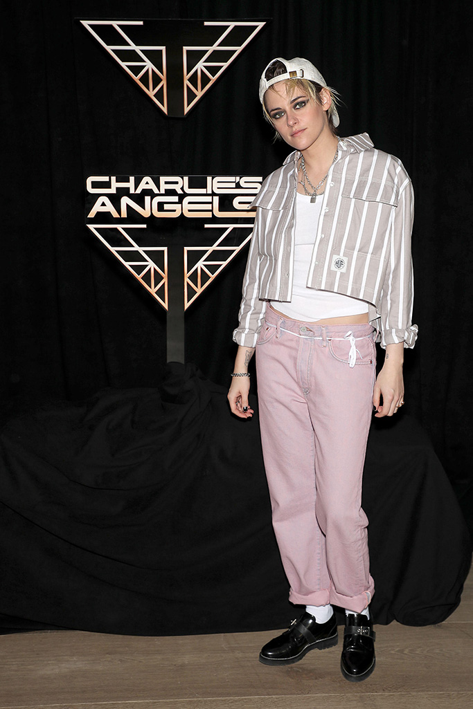 """Kristen Stewart Sony Pictures """"Charlie's Angels"""" Photo Call in New York City, USA - 07 Nov 2019"""