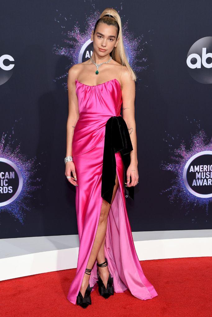 Dua Lipa, 47th Annual American Music Awards, Arrivals, Microsoft Theater, Los Angeles, USA - 24 Nov 2019