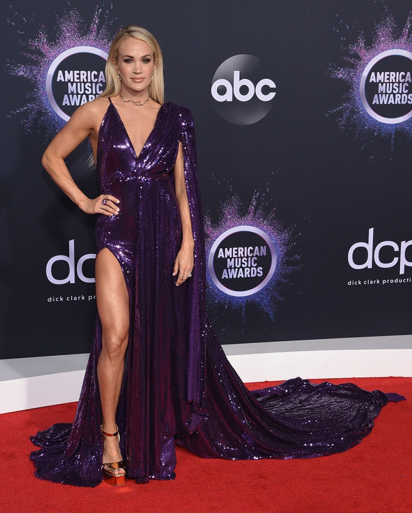 Carrie Underwood47th Annual American Music Awards, Arrivals, Microsoft Theater, Los Angeles, USA - 24 Nov 2019
