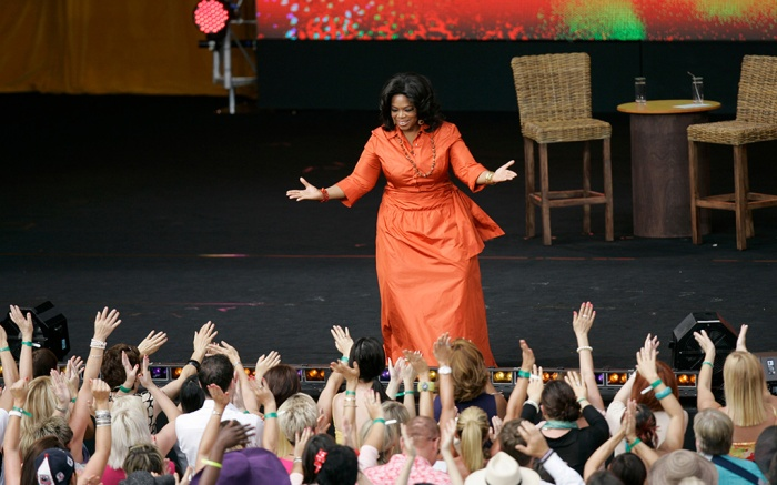 "Oprah Winfrey American talk show host Oprah Winfrey is greeted by fans during the filming of ""Oprah's Ultimate Australian Adventure"" at the Sydney Opera House in Sydney. Fresh off her Australian tour with her frenzied talk-show fans, Winfrey is taking a respite in the South Pacific island nation of Fiji, where the military regime wished her ""a great time."" Fiji's tourism minister said Winfrey was spending the Christmas holiday there and that officials wanted to respect her privacy. Local media reported she arrived, and she and longtime beau Stedman Graham were to stay until Dec. 26Australia Fiji Oprah Winfrey, Sydney, Australia"