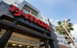 A TJ Maxx store located in