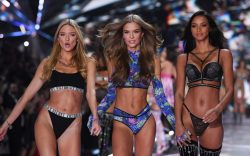 Martha Hunt, Josephine Skriver and Lais