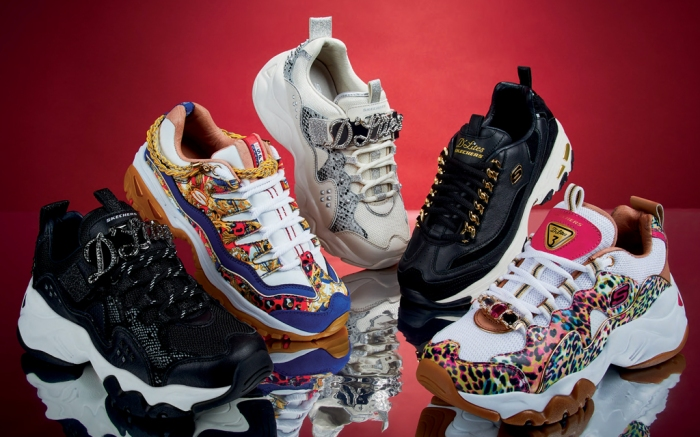 skechers, holiday collection, sneakers, premium heritage