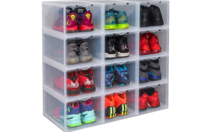 stackable shoe drawers