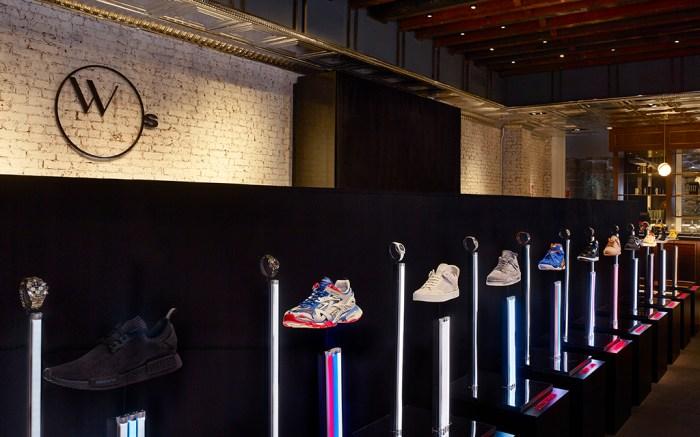 "Stadium Goods Watches of Switzerland ""Sneaker Time"" exhibit"