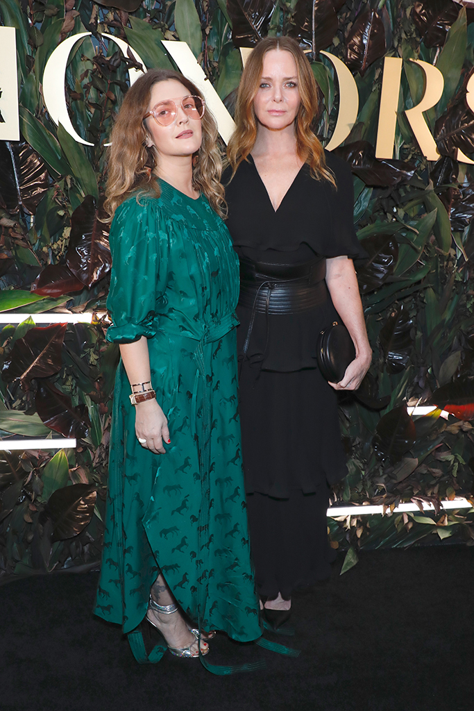 Drew Barrymore and Stella McCartney4th Annual WWD Honors, Arrivals, New York, USA - 29 Oct 2019