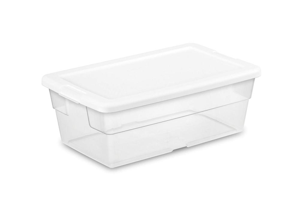 Sterilite 6 Quart storage box
