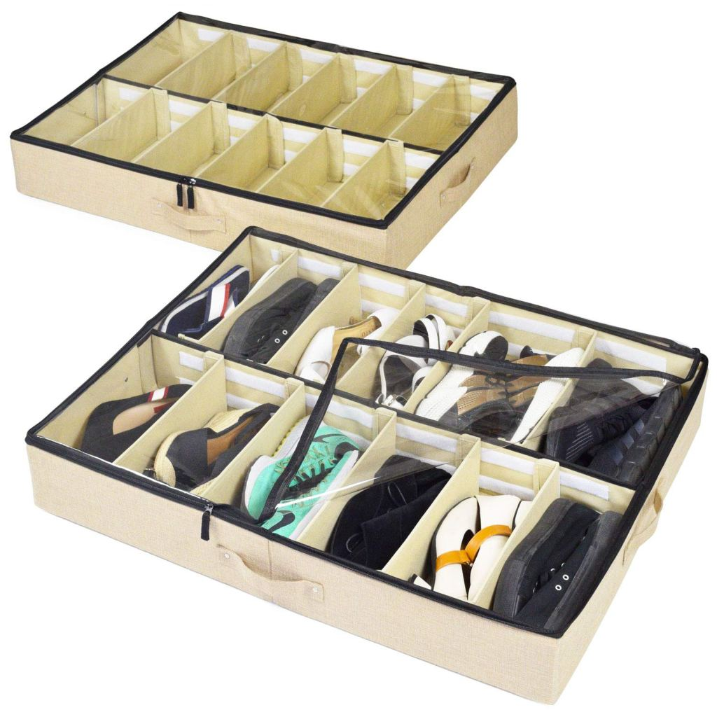 storage lab under bed shoe organizer