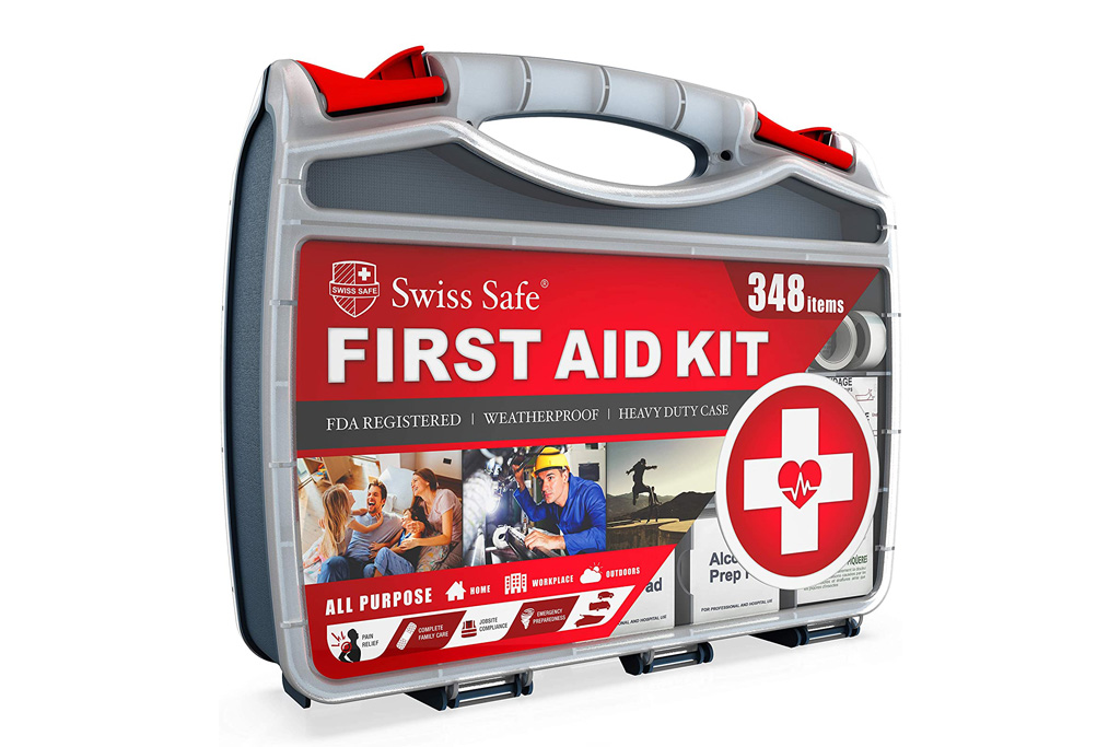 swiss safe, first aid kit