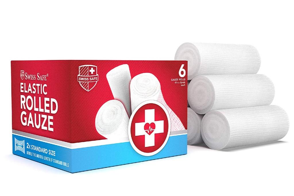 Swiss Safe Gauze Rolls