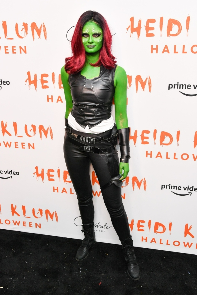 taylor hill, halloween costume, heidi klum's halloween party