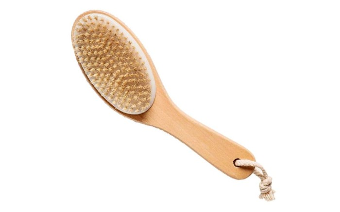 touch me bristle body brush