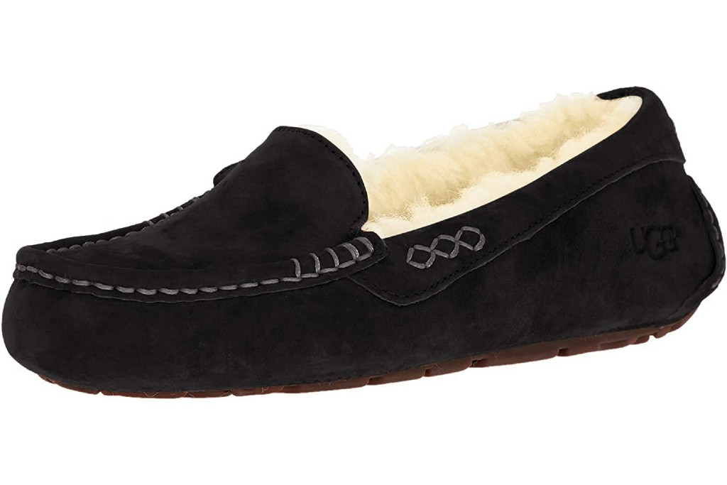 UGG Women's Ansley Moccasin, Most Comfortable Moccasin Slippers for Women