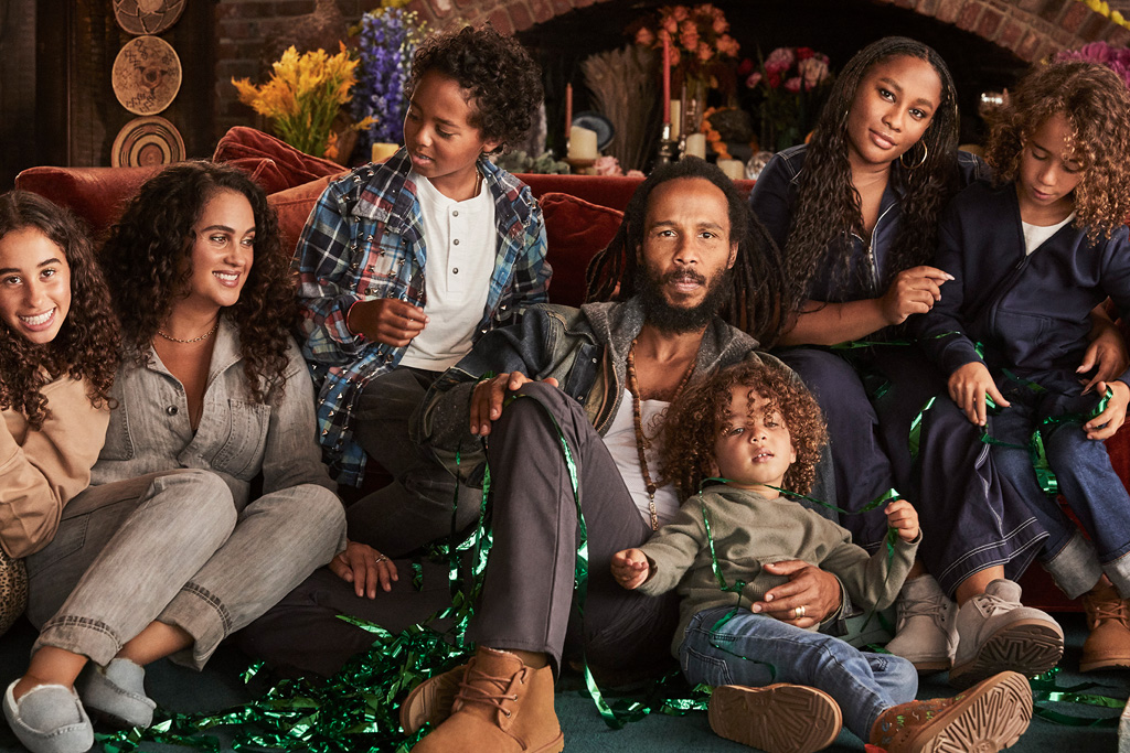 ugg, Give the Gift of UGG' Holiday 2019 campaign, ziggy marley
