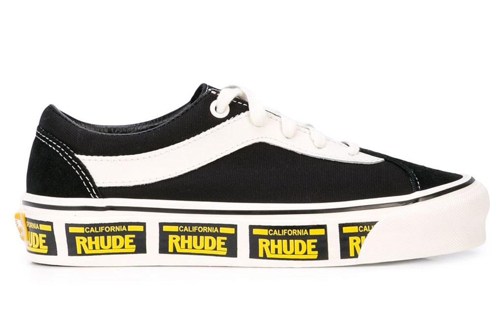 Vans x Rhude, sneakers, license plate
