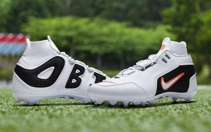 Nike Vapor Untouchable Pro 3 OBJ Uptempo Cleat 'Air Zoom Generation'