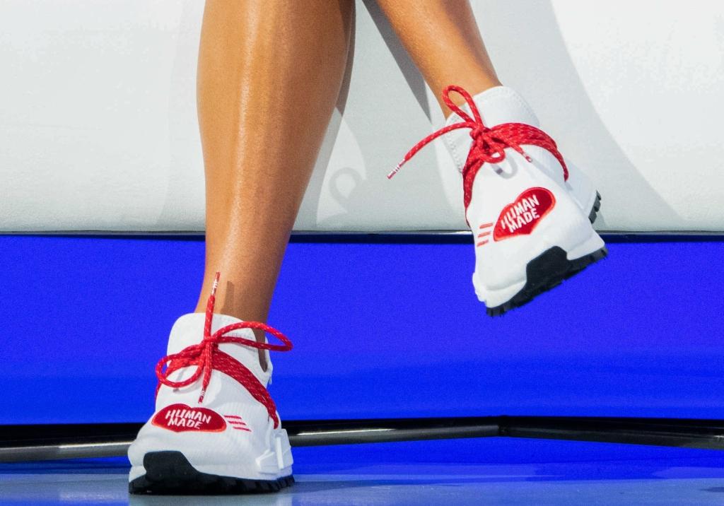 yara shahidi, Human Made x adidas NMD Hu sneakers, complexcon